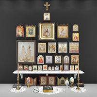 Iconostasis. Christianity.