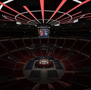 arena ufc 3D