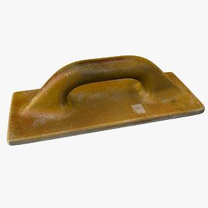 3D plastering float