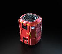 3D Concept sci fi box(1)