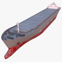 bulker carrier redshift 3D model