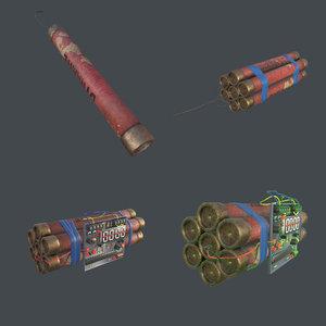 dynamite ready games 3D model