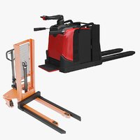 electric stacker 3D