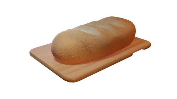 bread board 3D model