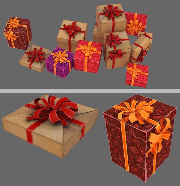 gift 3D