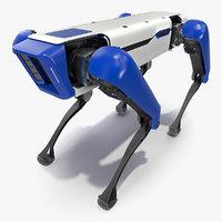 3D dog robot generic bot model