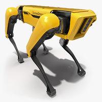 3D spotmini boston dynamics robot