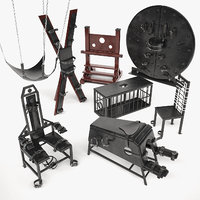 bdsm furniture 3d model