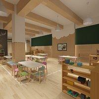 3D classroom 2