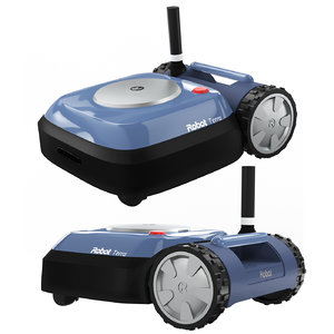 3D robot mower model