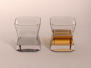 whiskey glass 3D model