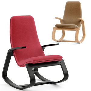 chair rapid rocker 3D