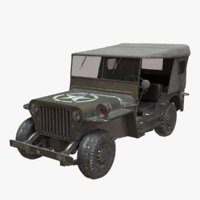 willys army truck model