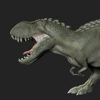 Vastatosaurus rex posed