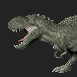 3D vastatosaurus rex