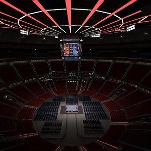 arena stadium sport 3D model