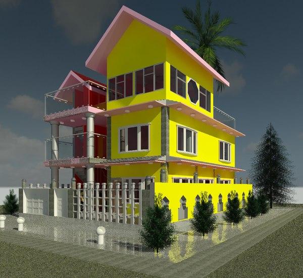3D model vip home