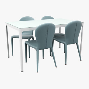 dining table 3D