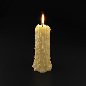 magic candle 3D model