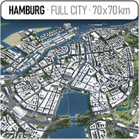 Hamburg - city and surroundings