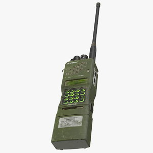 3D model l3harris falcon anprc-152a wideband