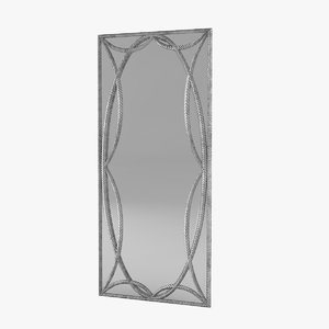 3D pregno sp92r floor mirror model