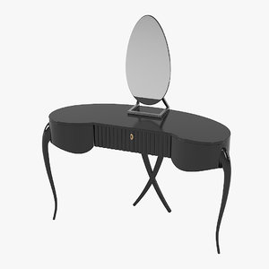 3D model guy amarante dressing table