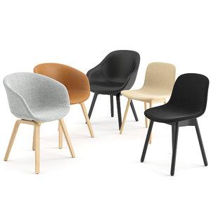 chair hay seat 3D model