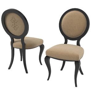 pregno s57tr chair 3D model