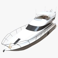 3D 64 yacht redshift model