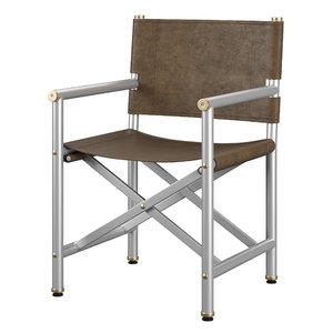 baxter armchair 3D model