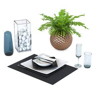 decorative set service model