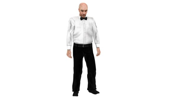 boxing referee animations 3D