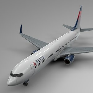delta airlines boeing 737-800 model