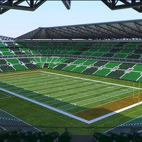 American Football Stadium 02