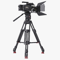 Venice Movie Camera with Tripod