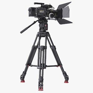 3D venice movie camera tripod