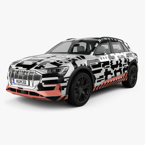 audi e-tron prototype 3D model