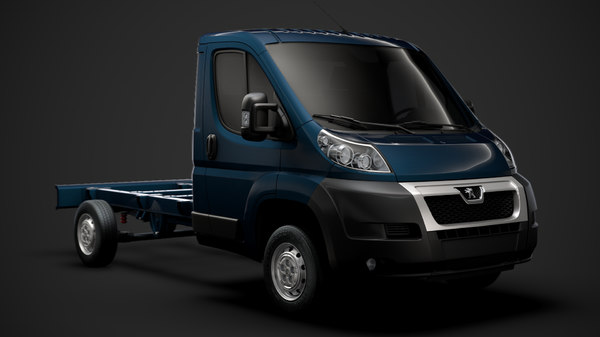 peugeot boxer chassis truck model