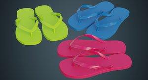 3D flip flops 1a