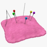 pin cushion 3D