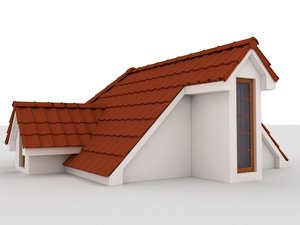 3D hause-build-roof-exterior model