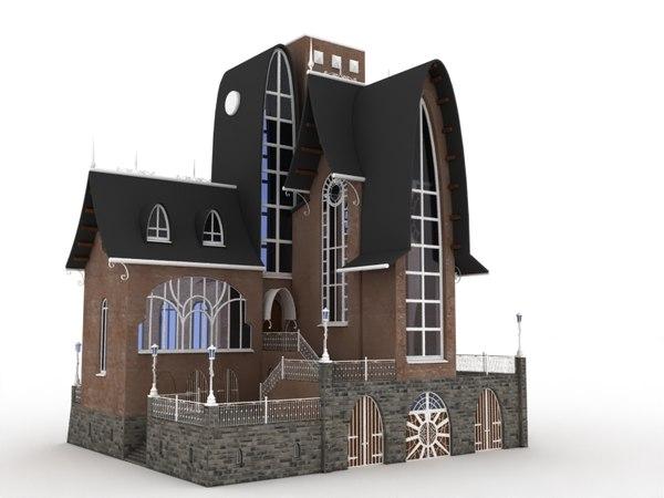 hause-building-exterior-historic-victorian model