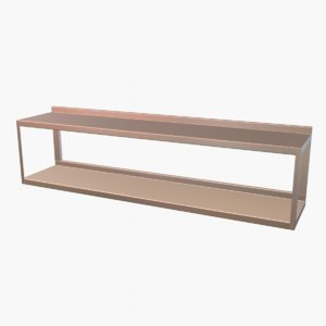 wall mounted shelf 3D