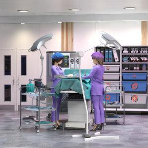 scientific modern surgery 3D