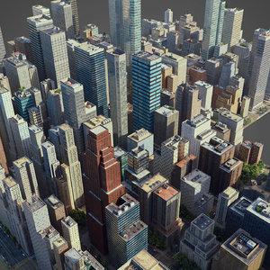city c1 3D model