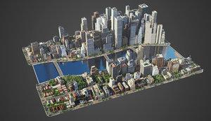 city c4 model