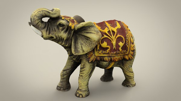 3D elephant mammal wildlife