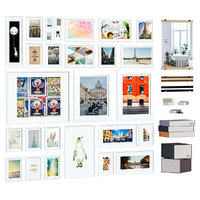 3D photoframes posters set