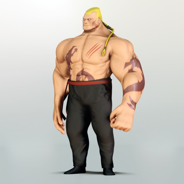 3D character rig